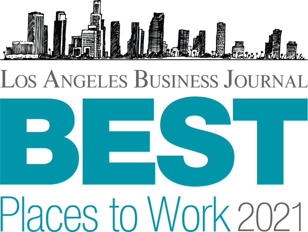 Be Structured Makes The Los Angeles' Business Journal Best Places to Work 2021